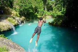 Jamaica Tourist Attractions  Blue Hole Ocho Rios