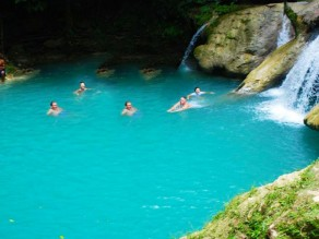 Blue Hole- Ocho Rios Scenic Tours from Falmouth